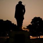 City Monument – Subramania Bharathi Plaza, Maharshi Raman Marg