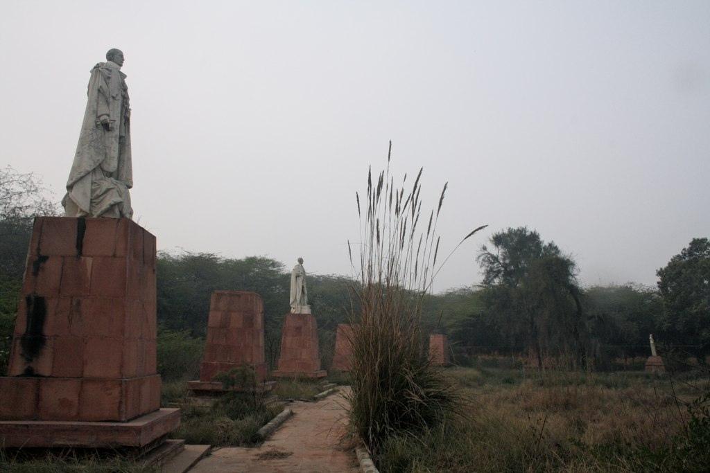 City Monument – Coronation Park, Bhai Parmanand Marg