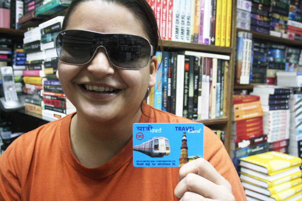 Delhi Metro - Look, What She Has Got