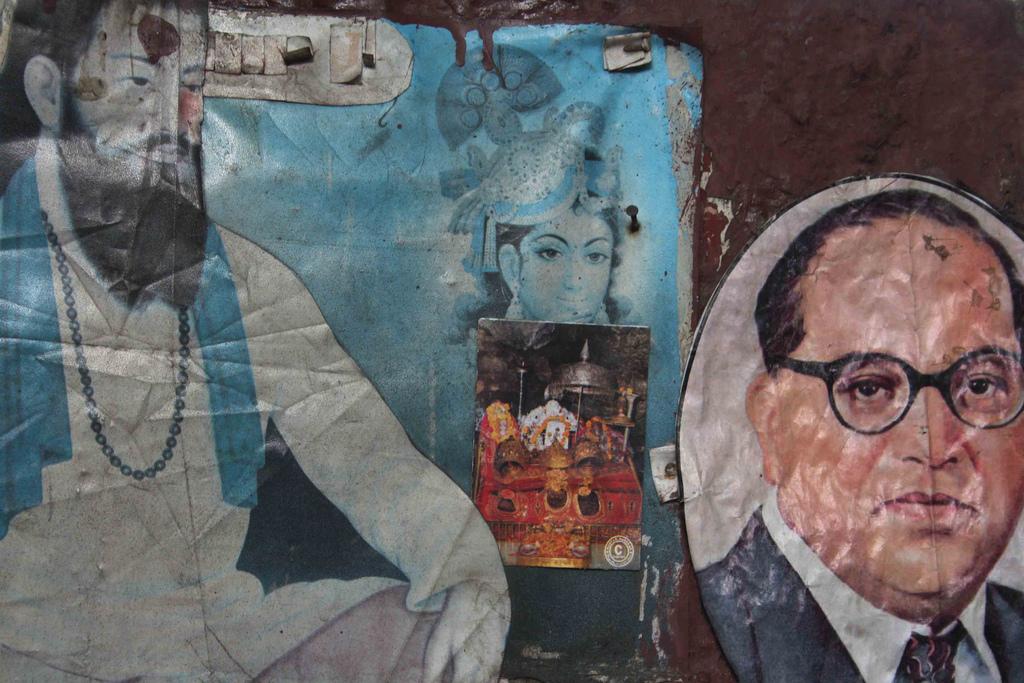 City Faith – Guru Ravidas and Dr Ambedkar, Kasturba Gandhi Marg