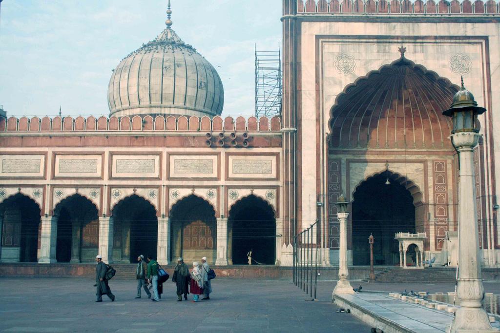 City Series – Stones of Jama Masjid - I, Shahjahanabad