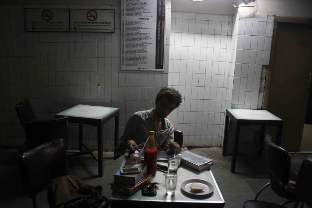 City Reading – The Delhi Proustians XV, Indian Coffee House