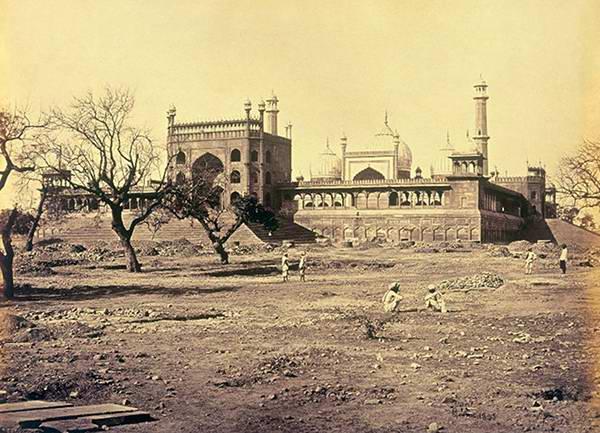 City Series – Stones of Jama Masjid III, Shahjahanabad