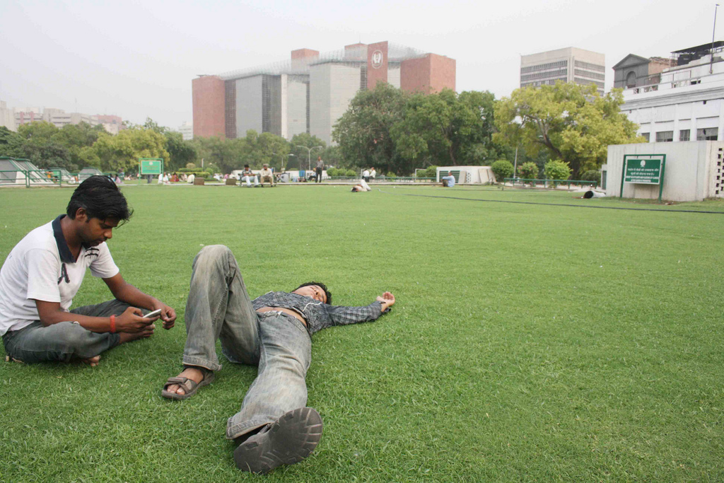 City Hangout – Palika Parking Park, Connaught Place