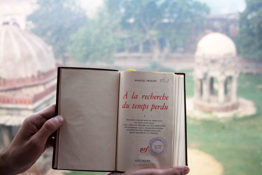 City Notice – The Delhi Proustians XXIII, Outside Humayun's Tomb