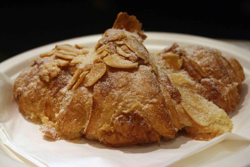 City Food – Almond Croissant, L'Opéra Pâtisserie