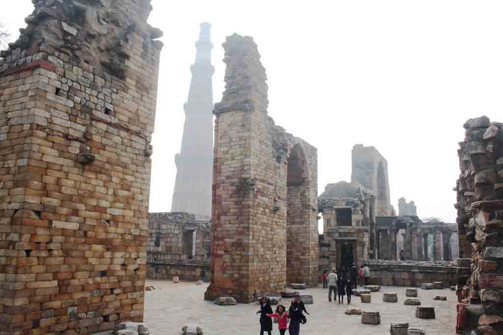 City Monument - Qutub Minar Complex, Mehrauli