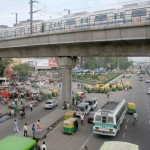 City Moment – The Delhi Metro, Ghazipur Road
