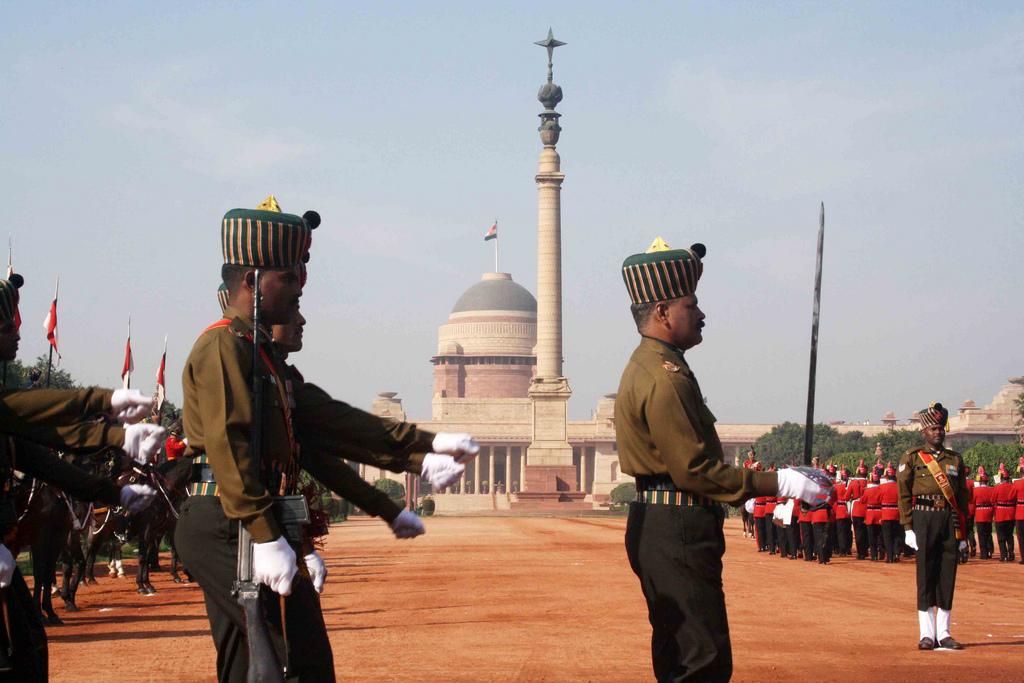 City Hangout – Change of Guard, Rashtrapati Bhawan