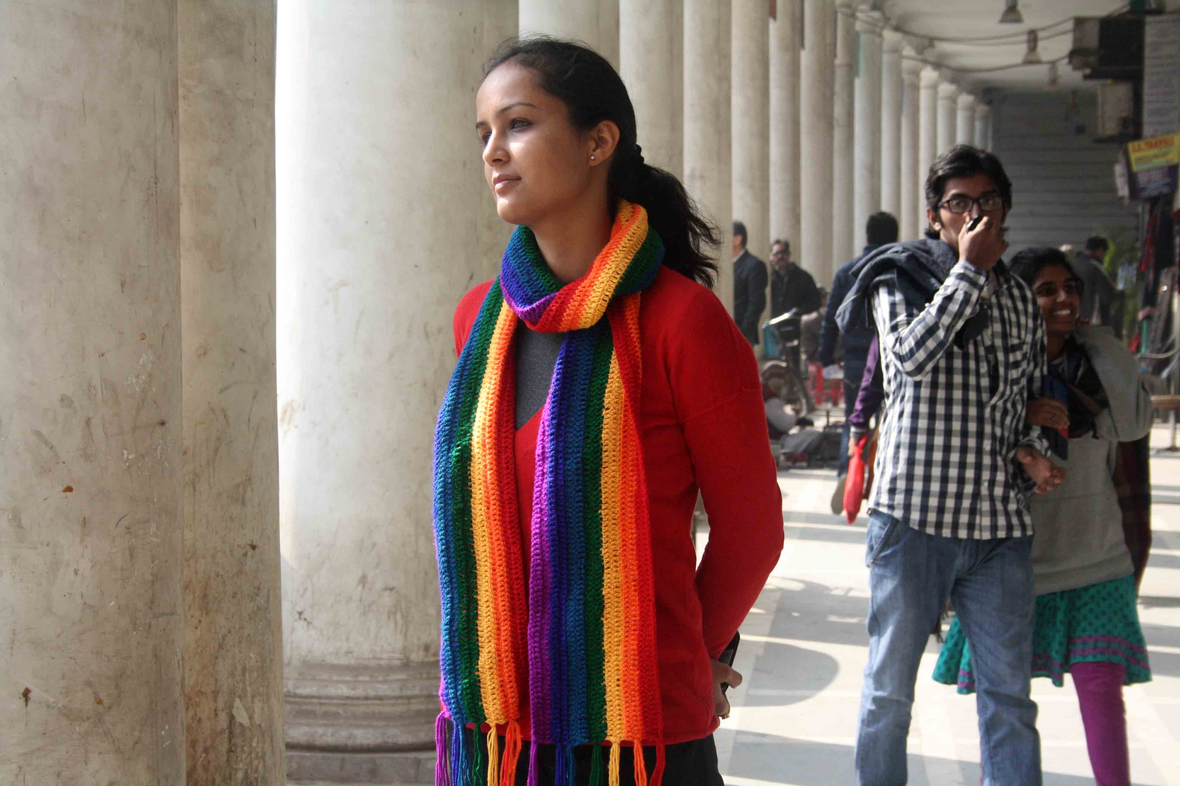 Delhi's Bandaged Heart – Manika Dhama, Connaught Place
