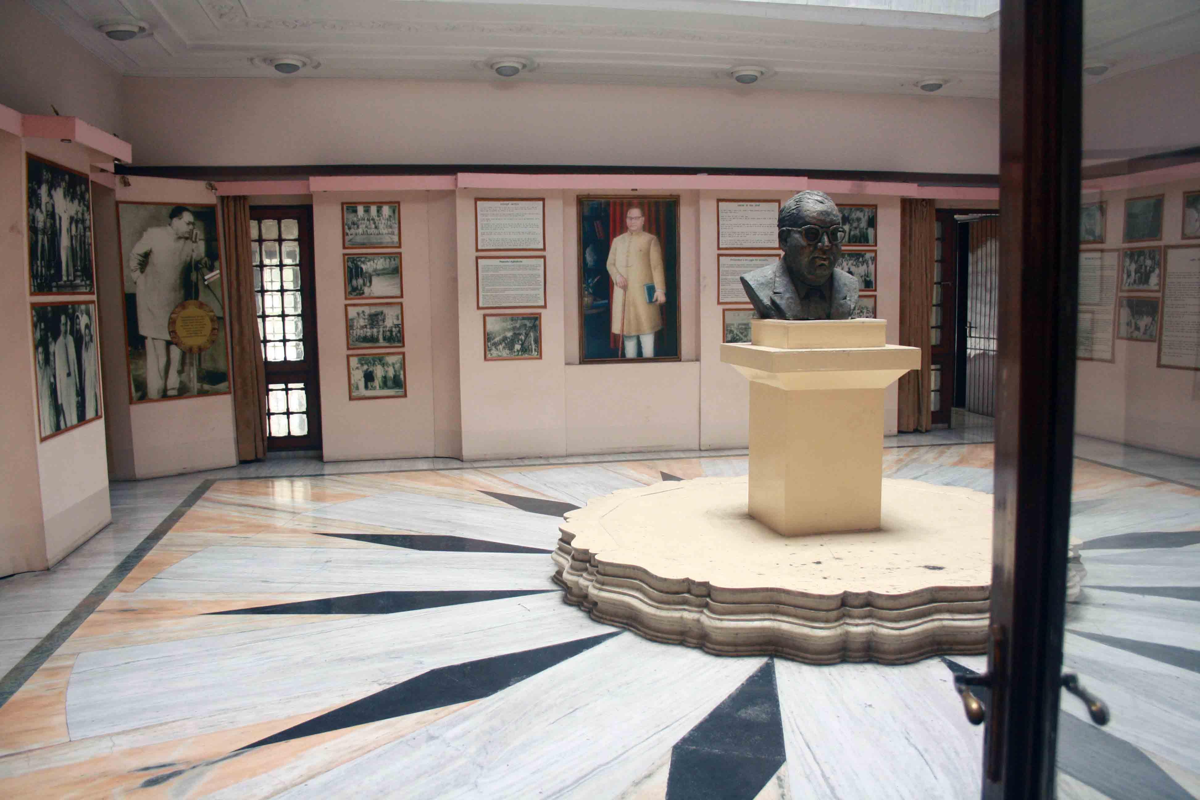City Monument – Dr Ambedkar National Memorial, Alipur Road