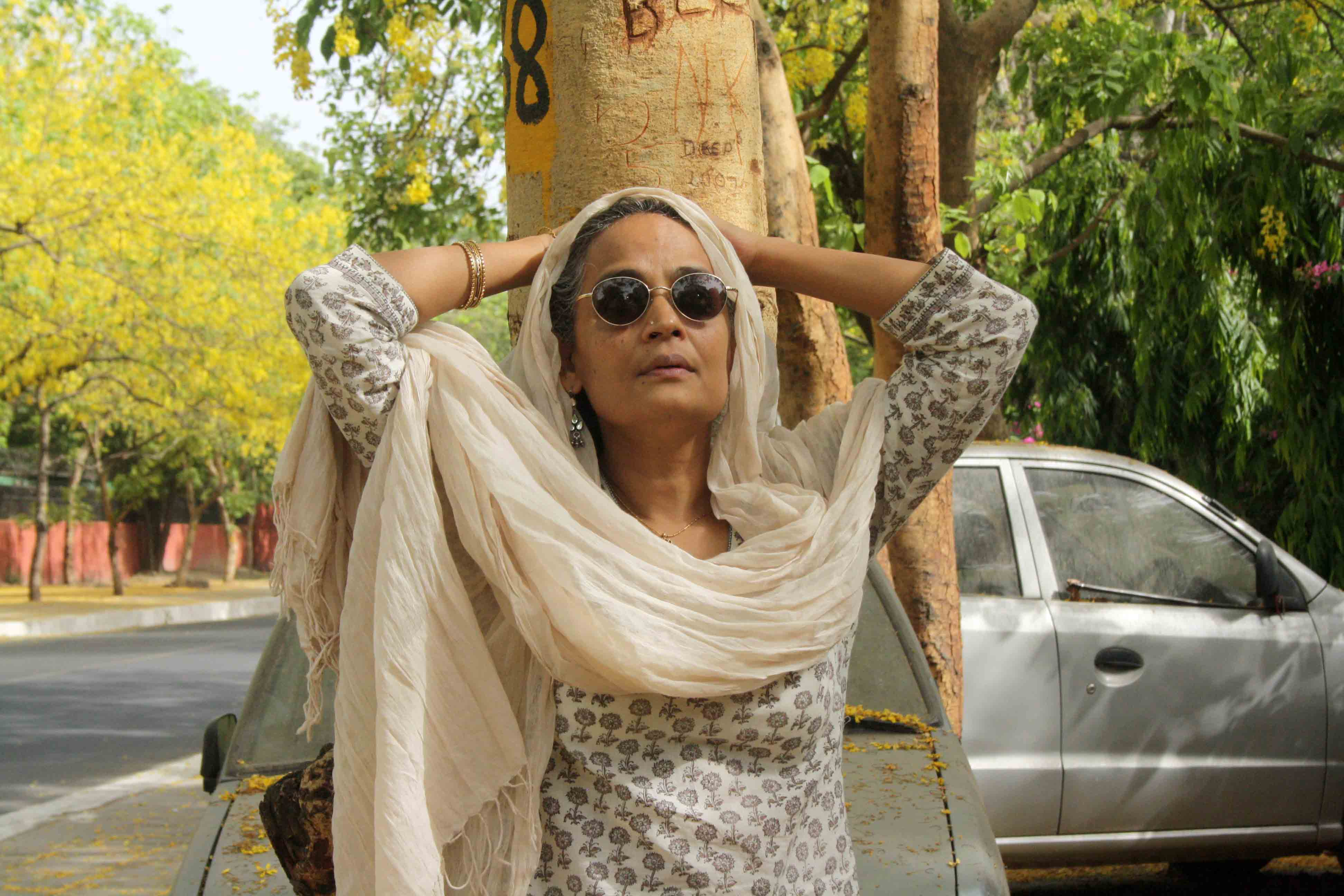 City Sighting - Arundhati Roy, Tansen Marg