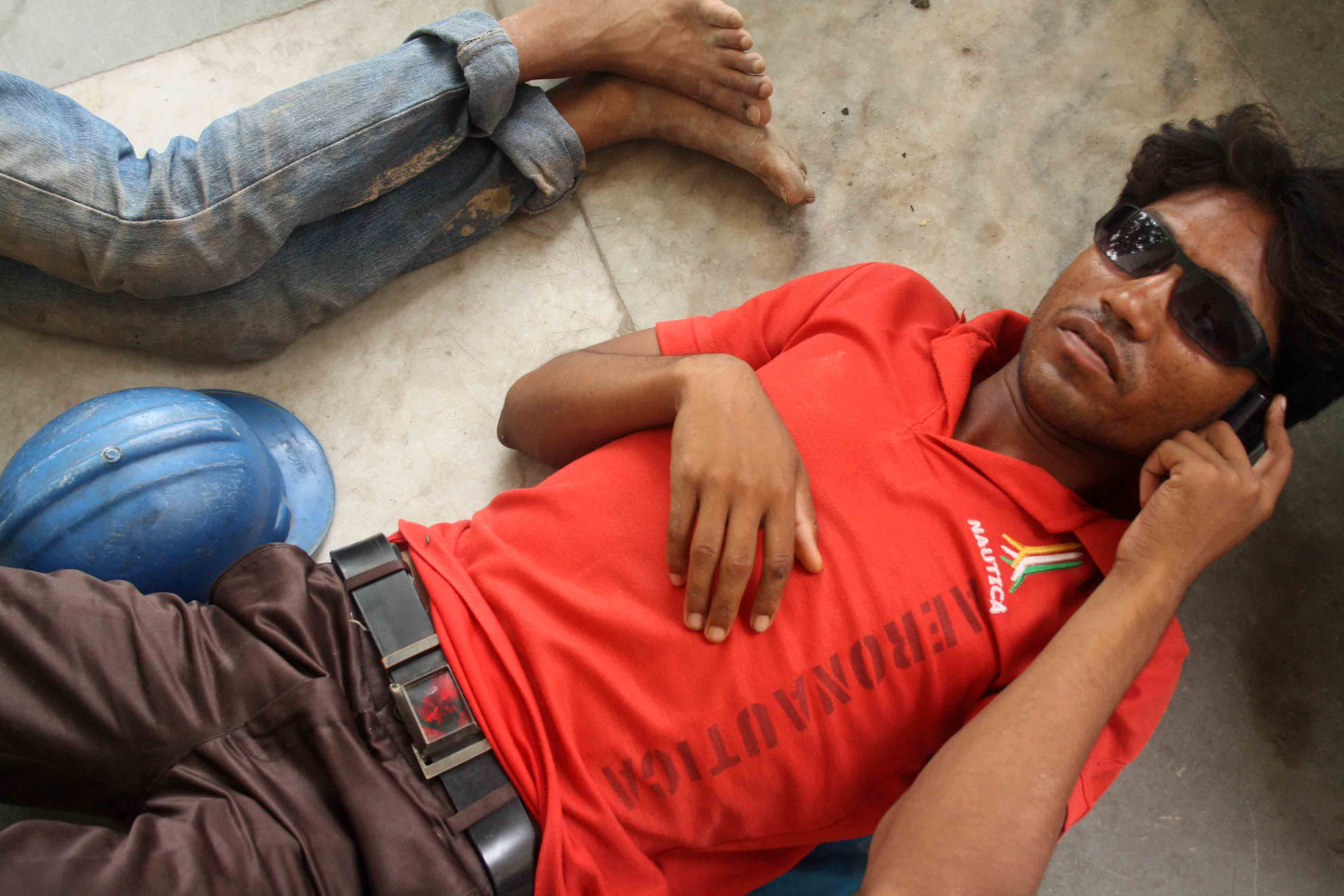 Photo Essay – The Resting Labourers, Connaught Place