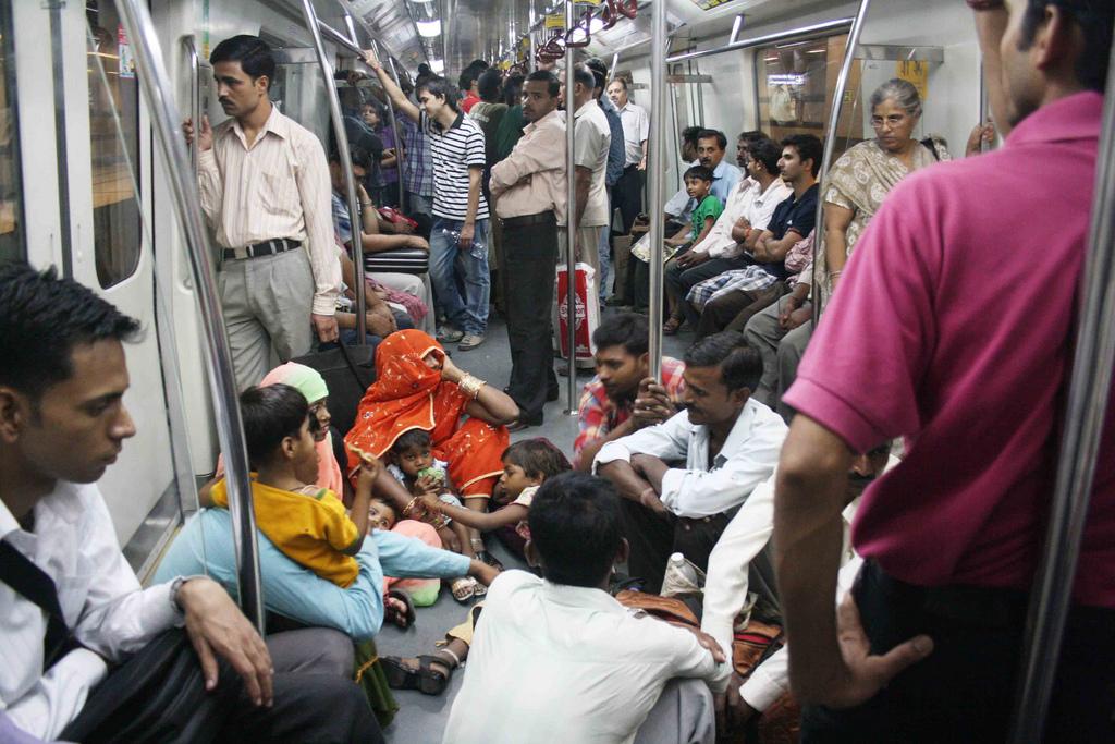 City List – Prohibited Items, Delhi Metro