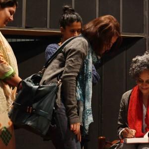 City Moment –Author Hugging, India Habitat Center