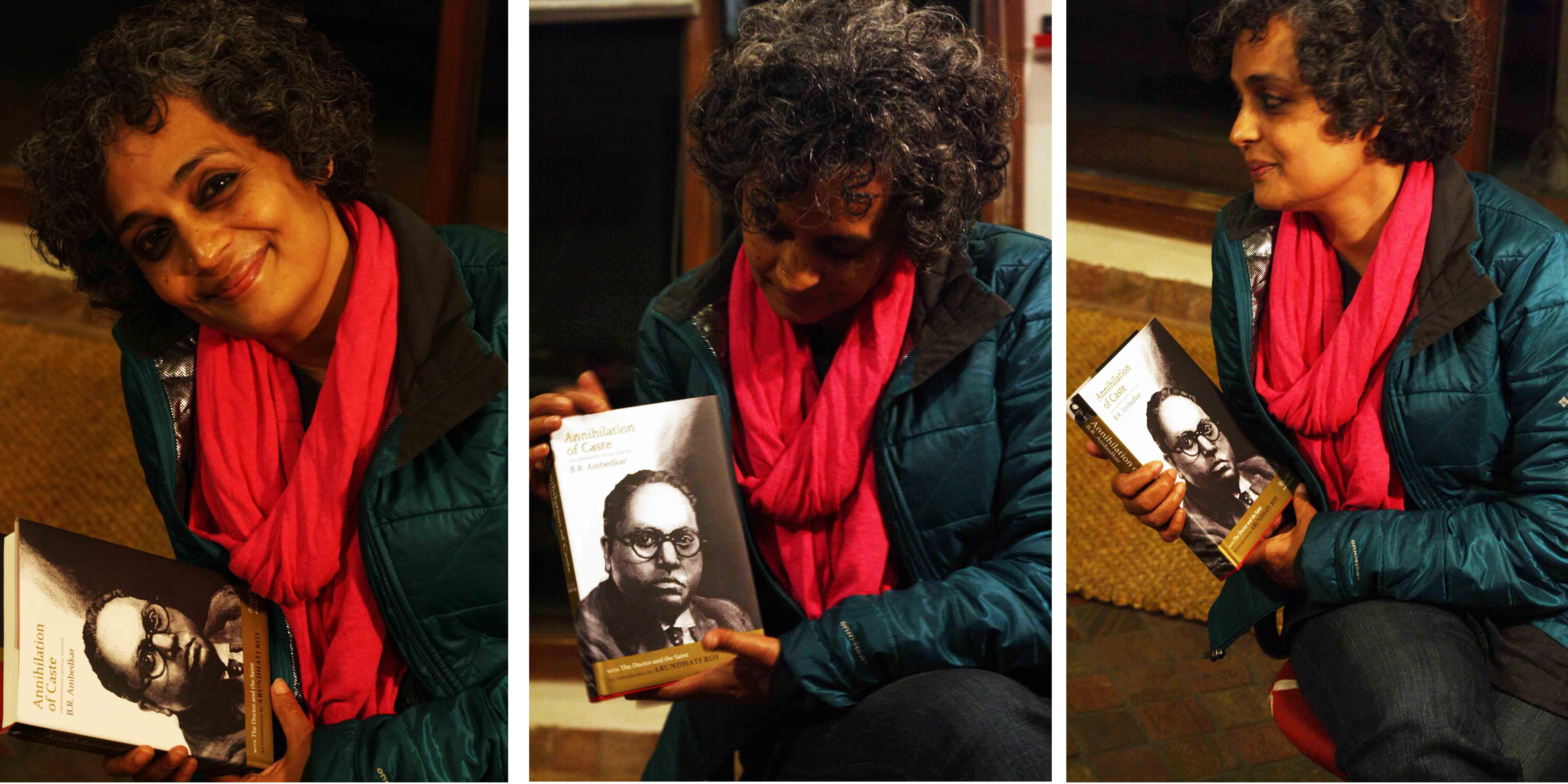 City Sighting - B.R. Ambedkar & Arundhati Roy, Navayana
