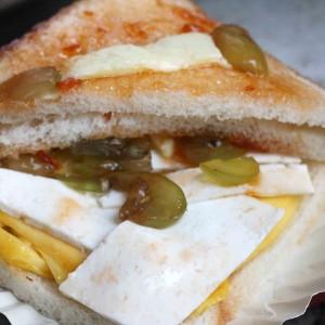 City Food - Fruit Sandwich, Jain Coffee House