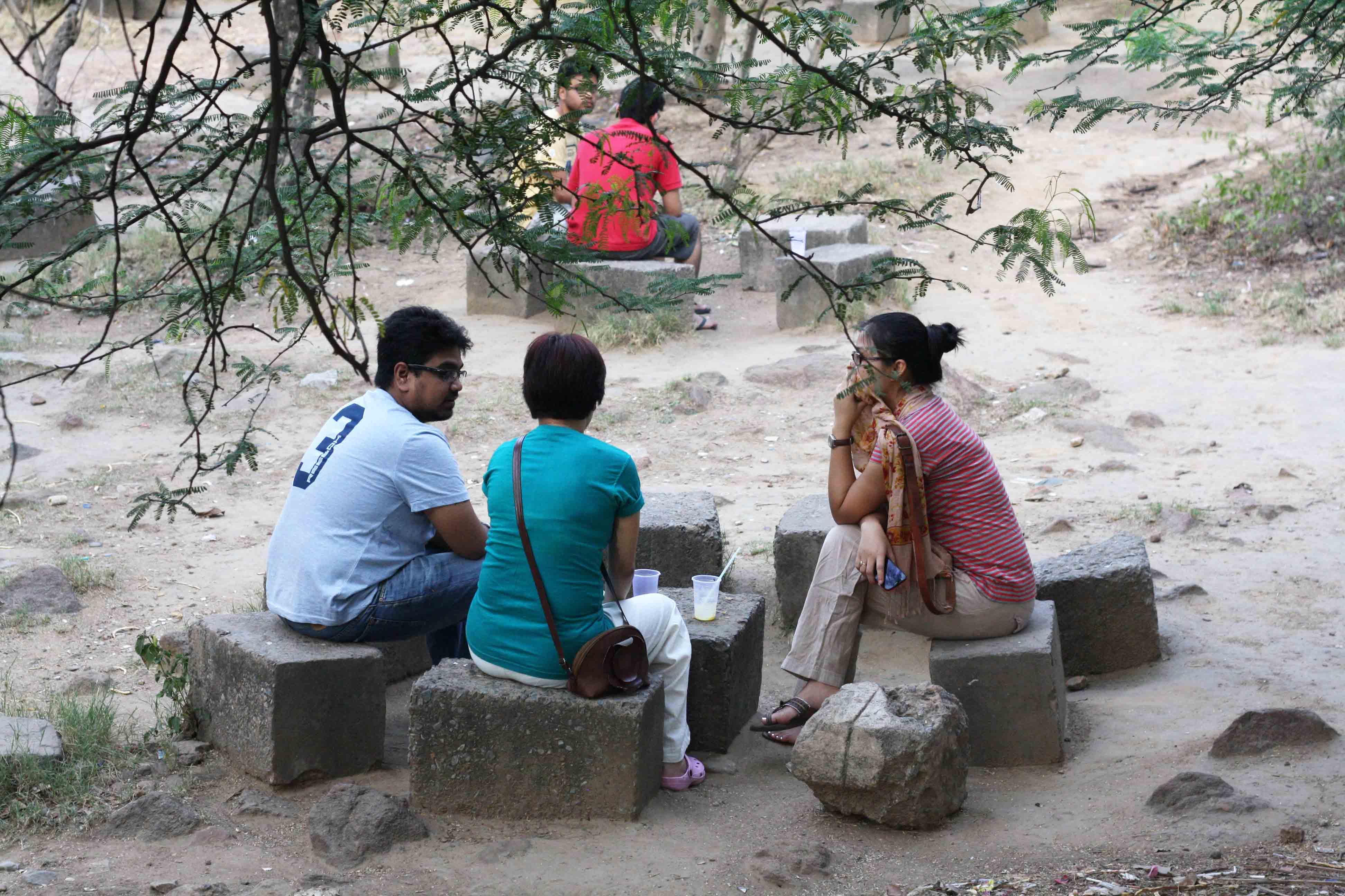 City Hangout - Ganga Dhaba, Jawaharlal Nehru University