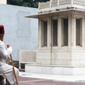 City Moment - Poet's Pilgrim, Ghalib's Tomb