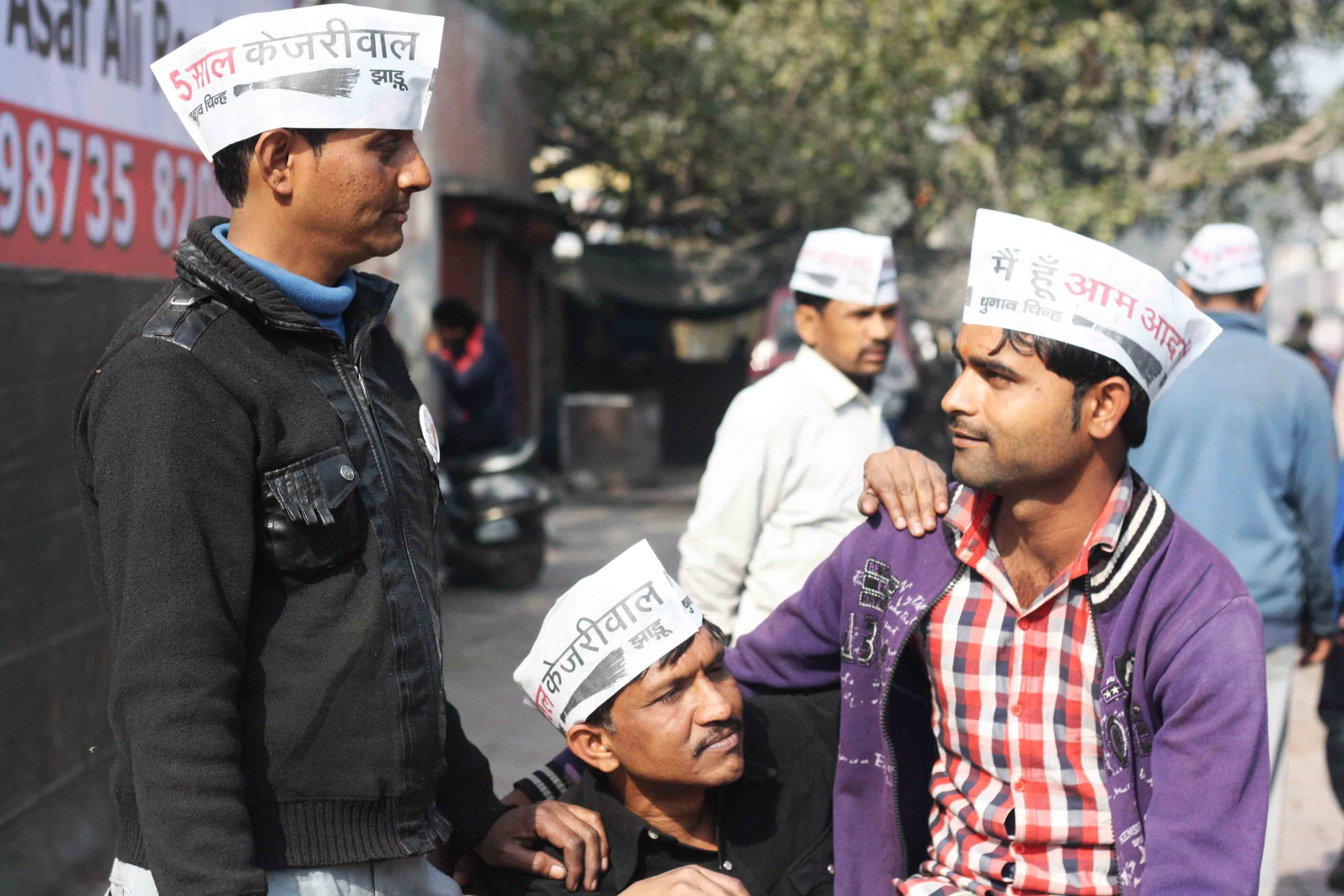 Photo Essay – Common Men, Around Ramlila Maidan