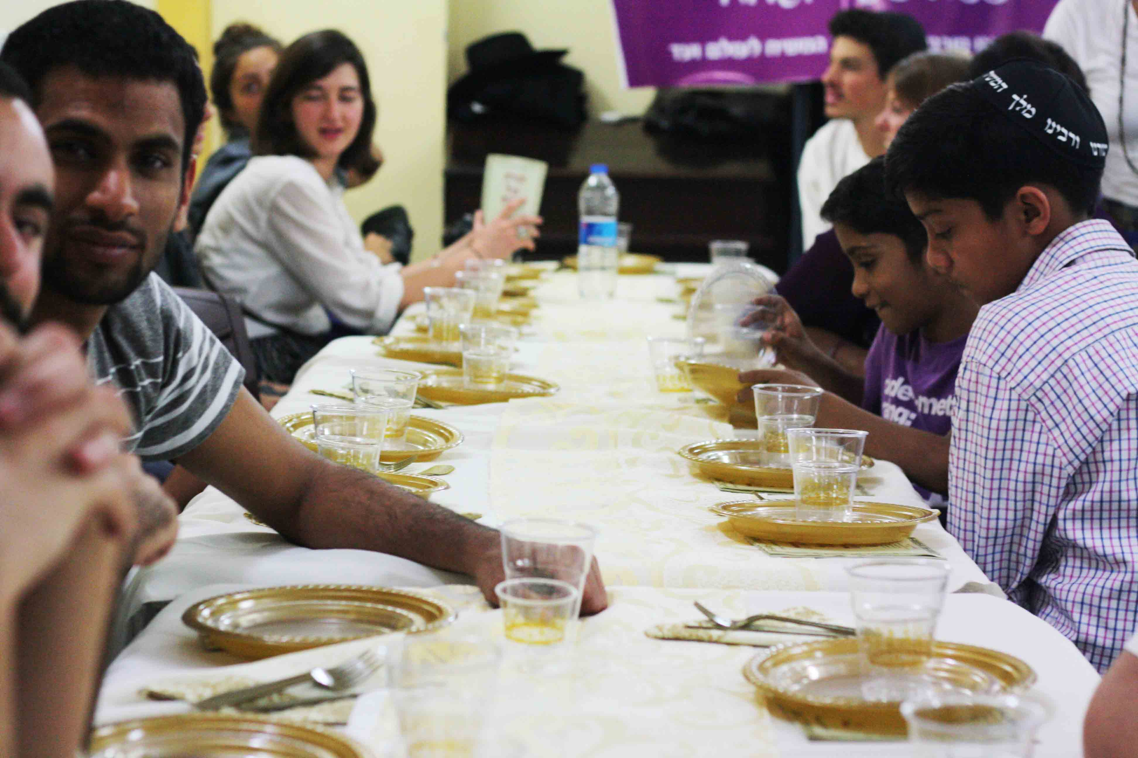 City Faith - Passover Meal, Chabad House