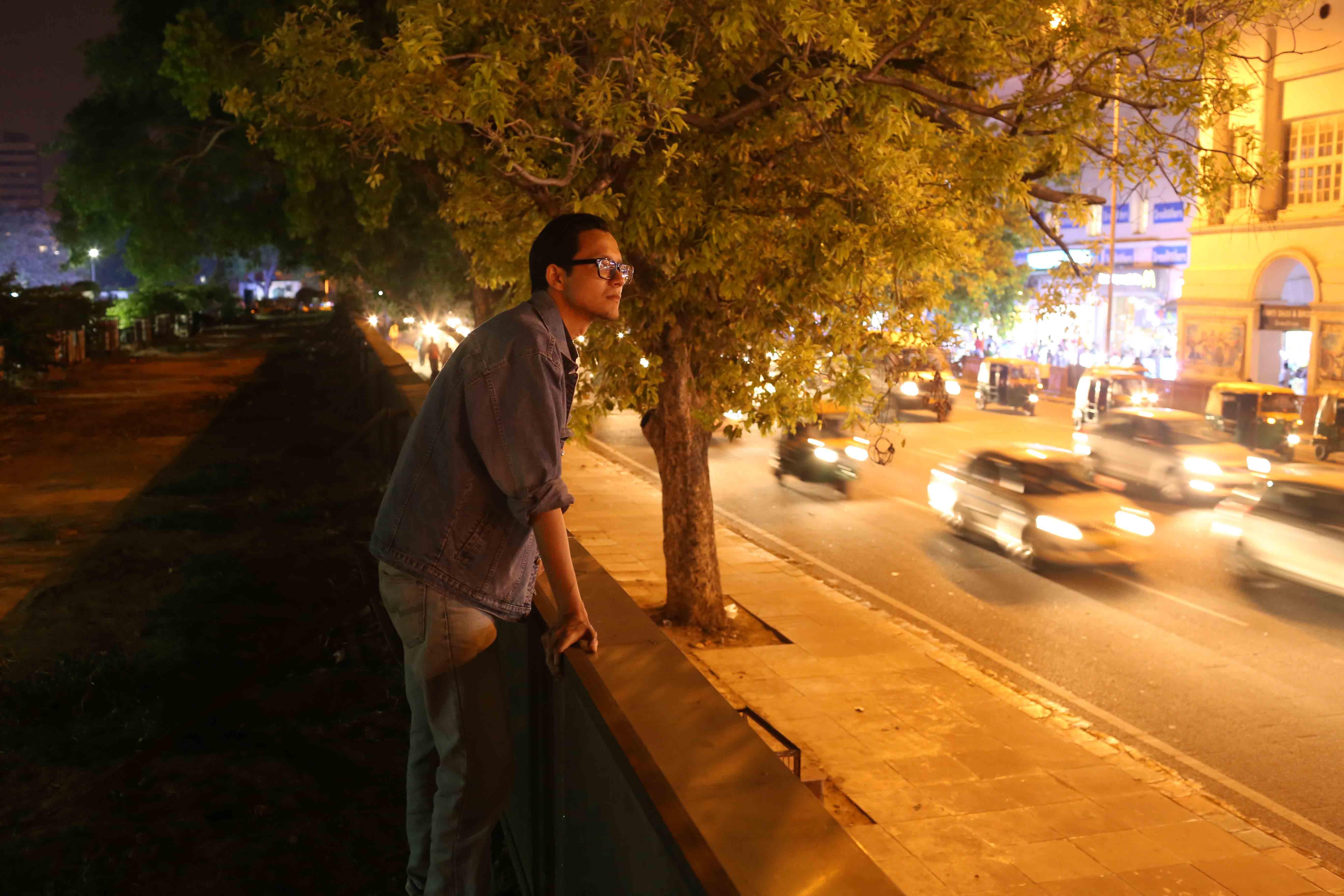 Delhi's Bandaged Heart – Ishan Marvel, Opposite Regal Cinema
