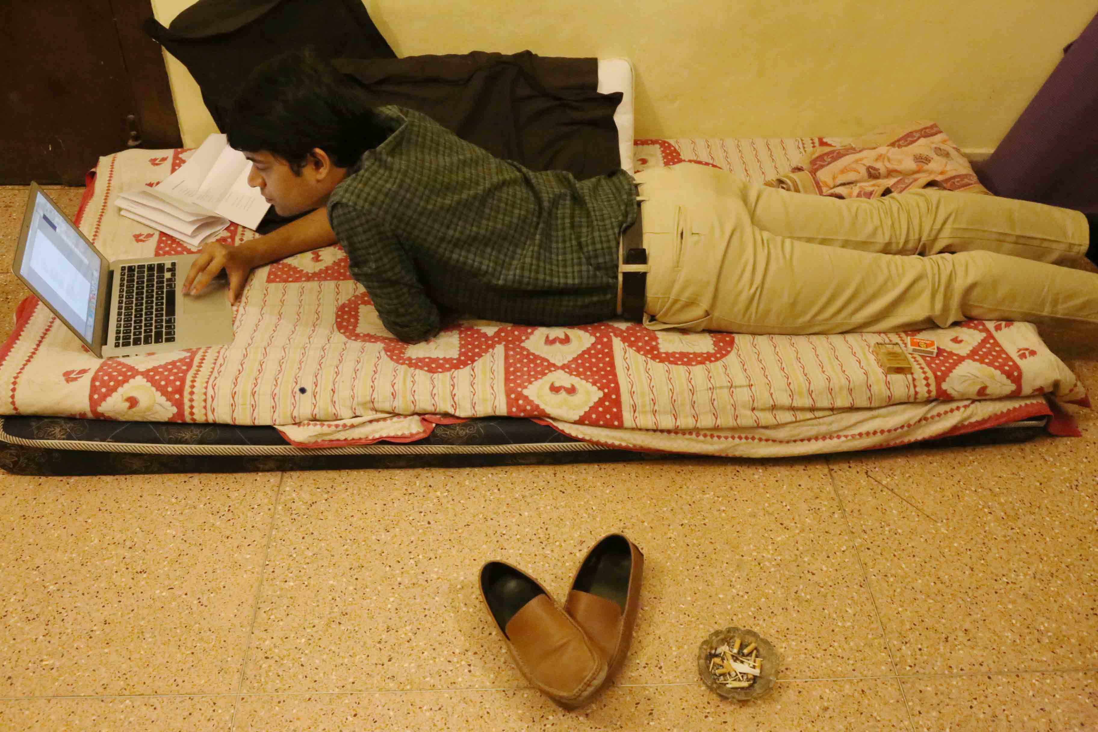 Delhi's Bandaged Heart – Jit Shankar Banerjee, Green Park Market