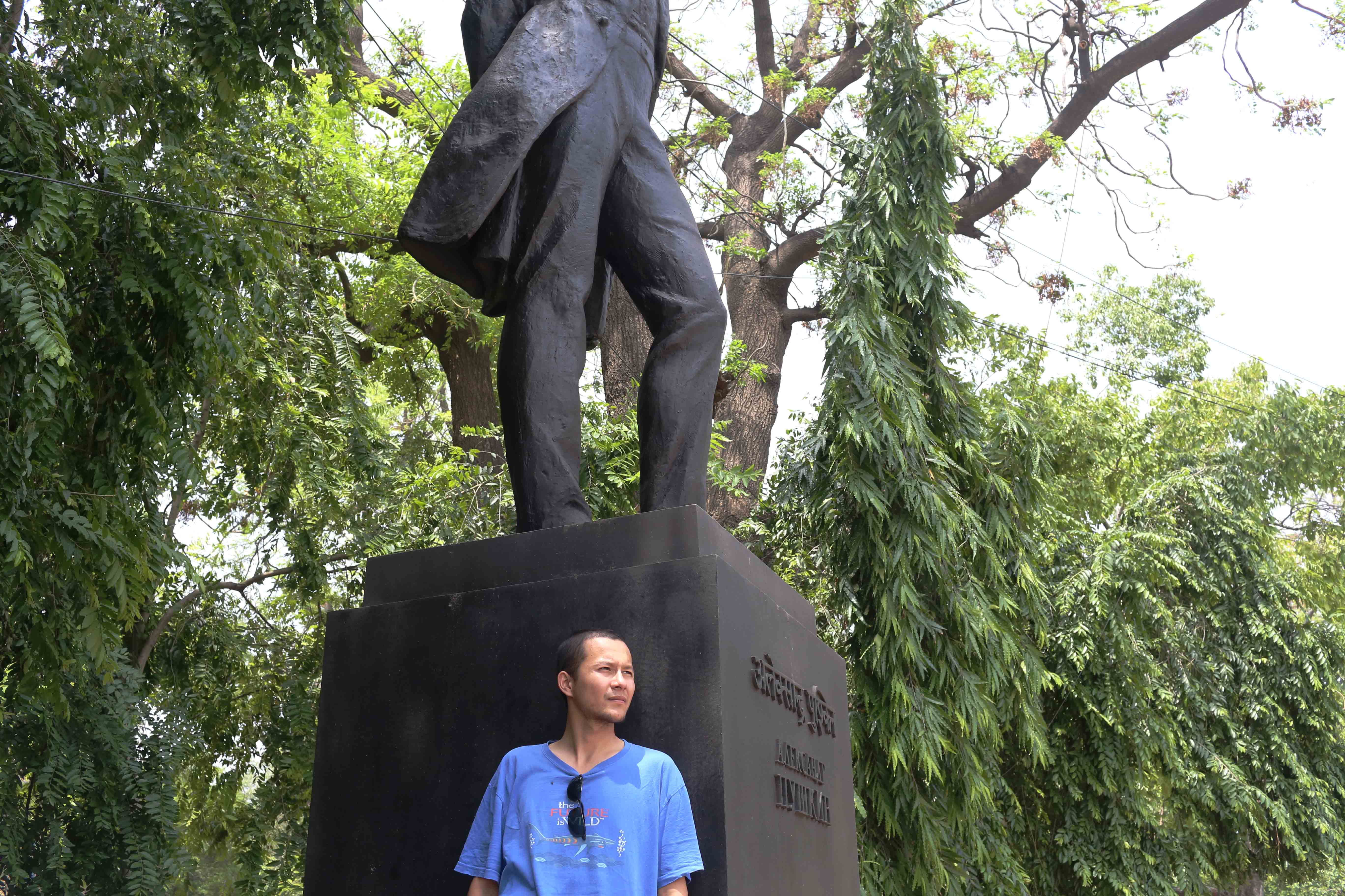 Delhi's Bandaged Heart – Ishan Marvel & Aleksandr Pushkin, Mandi House