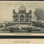 City Monuments – H.A. Mirza & Sons Postcards, Muslim & British Delhi