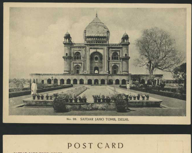 City Monuments – H.A. Mirza & Sons Postcards, Muslim & British Delhi
