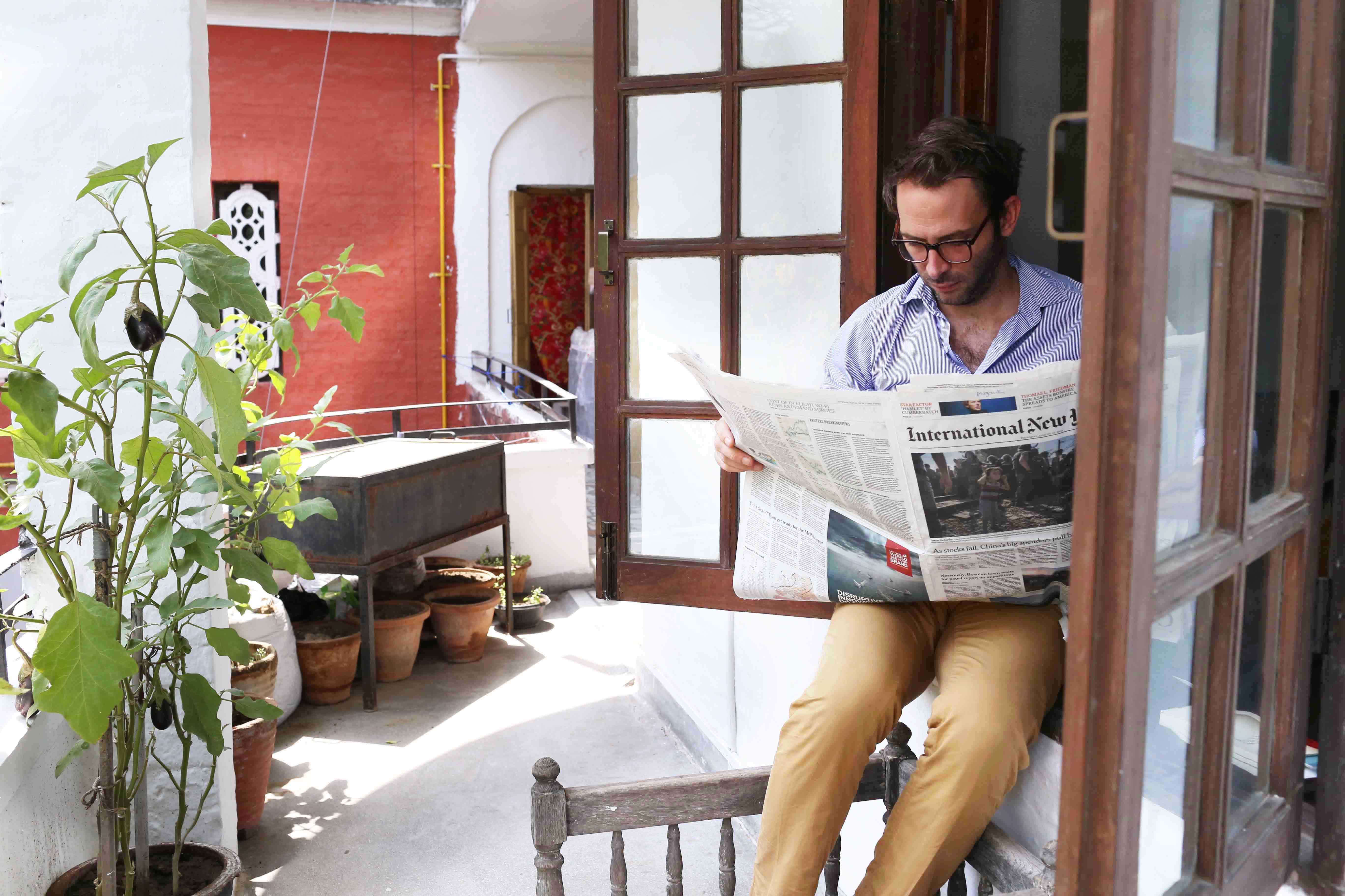 Home Sweet Home - Thomas Ellis's Residence, Sujan Singh Park