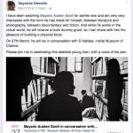 City Notice for 4 PM, 27 March - Artist Dayanita Singh To Celebrate The Delhi Walla Website as Delhi's Archivist