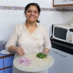 Julia Child in Delhi – Radhika Singh Makes Vegetarian Corn Keema, Janak Puri