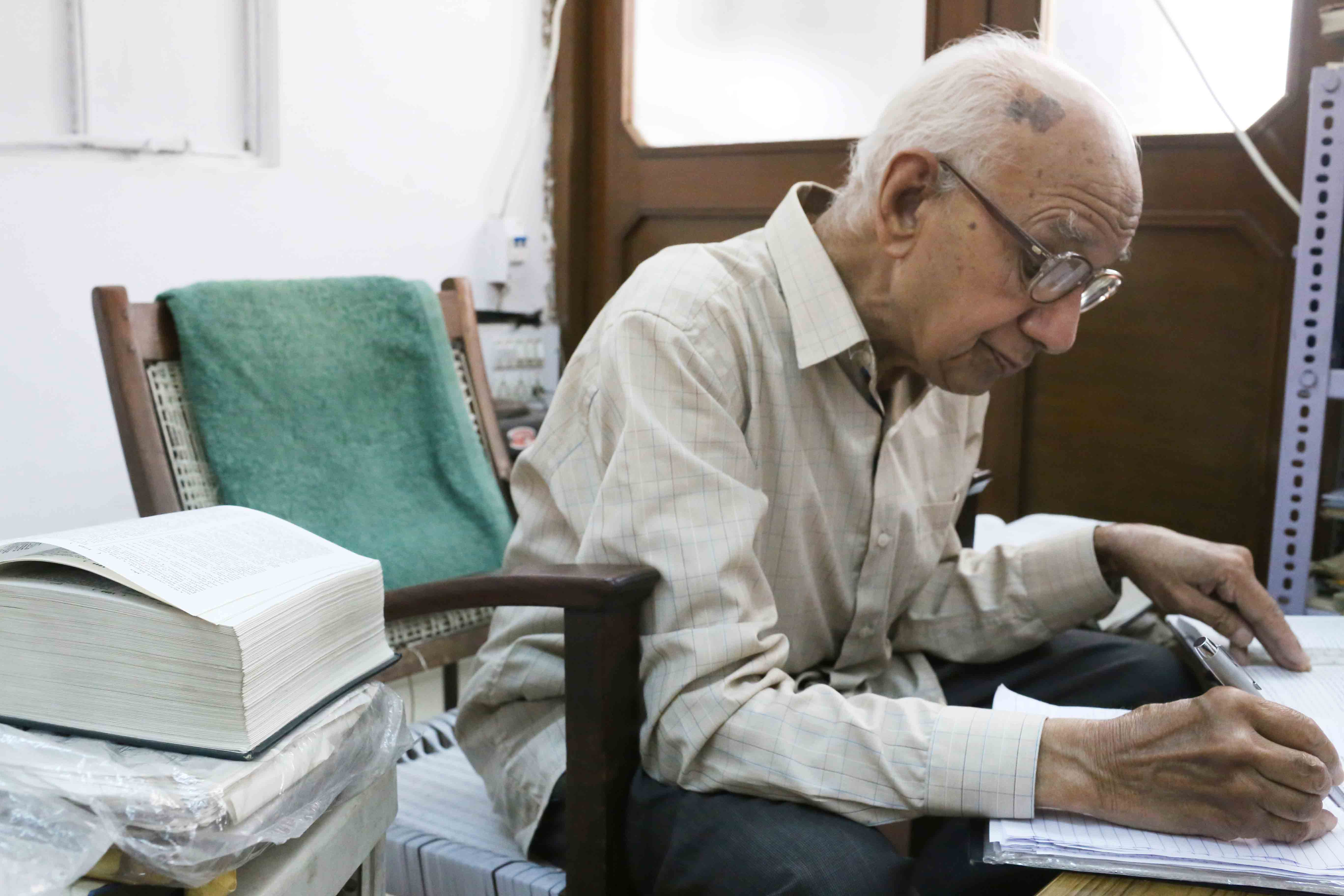 City Obituary - Delhi's Great Persian Scholar S.M. Yunus Jaffery is Dead, Ganj Mir Khan