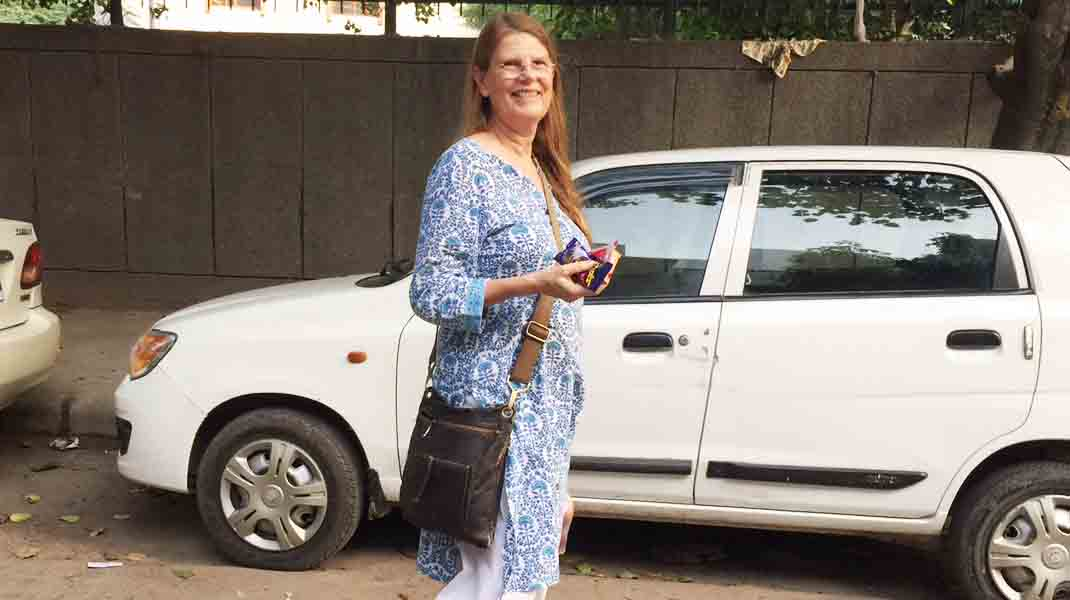 City Moment - Author Gillian Wright's Snacking Secrets Exposed, H. Nizamuddin West