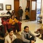 City Moment – Music, Food, Friends, Mobile Phone at Author Sadia Dehlvi's Drawing Room, H. Nizamuddin East
