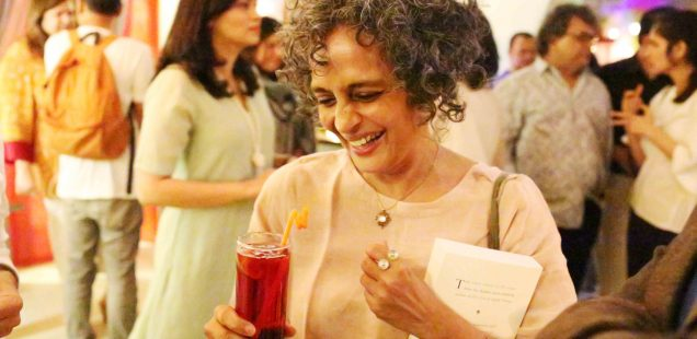 Netherfield Ball – Arundhati Roy Sighting, Somewhere in Delhi