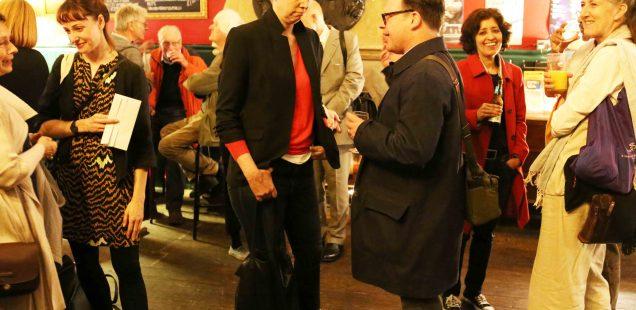 Netherfield Ball – Arundhati Roy's Book Launch, Union Chapel's Bar, London