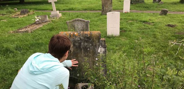 City Monument - Finding Agatha Christie's Grave, Cholsey, England