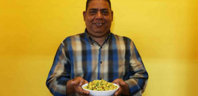 Julia Child in Delhi – Author Rakshanda Jalil's Marvellous Cook Bishen Singh Cooks His Famous Homely Poha, Central Delhi