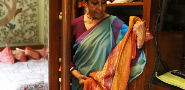 City Style - Jaya Jaitly's Sari Closet, Hazrat Nizamuddin East
