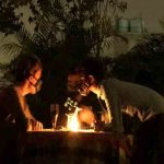 City Moment - Candle Light Dinner in the Time of Pollution, South Delhi