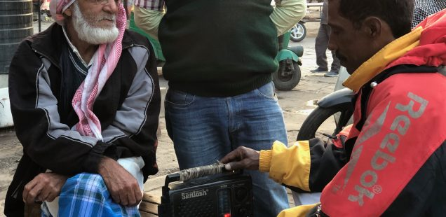City Life - Abdul Kayum's Radio, Central Delhi