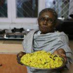 Julia Child in Delhi – Longtime Family Cook, Amma, Makes Her Narangi Rice, South Delhi