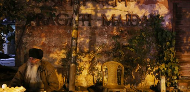 City Food - Dalbir Singh's Egg Stall, Outside Pragati Maidan Metro Station