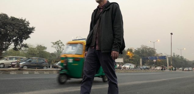 Delhi's Bandaged Heart – Michael Creighton's Love Songs, Adjacent to Outer Ring Road