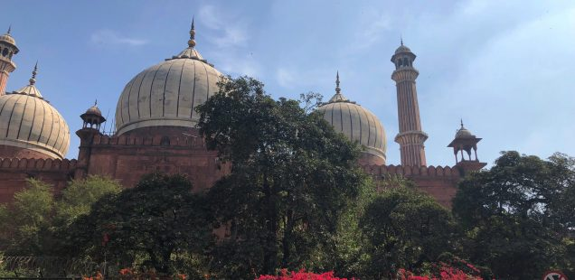 City Monument - Jama Masjid's Backside, Old Delhi