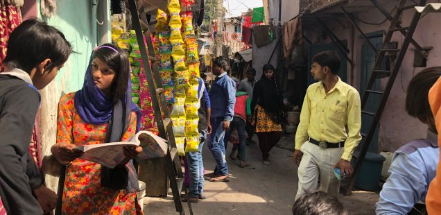 City Hangout - 'Harijan Camp', Right Behind Meharchand Market