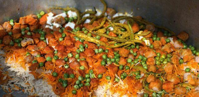 City Food - Rishabh Bhai's Veg Biryani, Anand Vihar