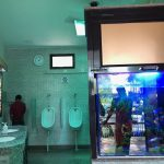 City Life - A Fishy Washroom, Connaught Place